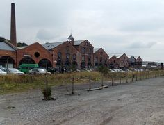 Former Cambrian Railways Works in Oswestry