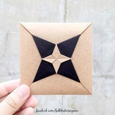 DIY Inspiration   Origami Envelope                                                                                                                                                                                 Más