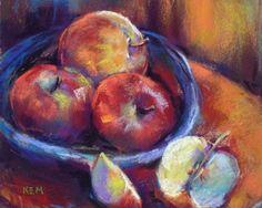 Apple Study, painting by artist Karen Margulis