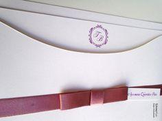 Convite Casamento Classico Rose   Livrepix Papelaria Personalizada   Elo7