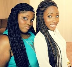 I LOVE Box Braids ! : Photo