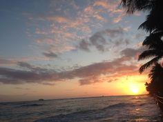sun set  Waikiki