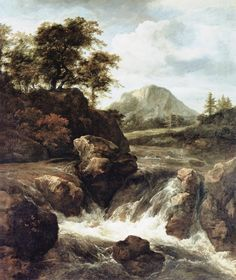 Jacob van Ruisdael (c.1629 – 1682) was a prolific Dutch Golden Age landscape painter, and is considered the most famous of four Haarlem family members who created landscape paintings, though traditionally their works have been difficult to tell apart.