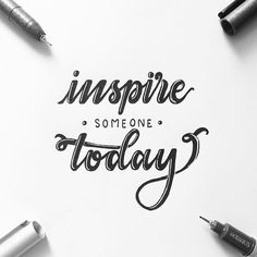 Inspire someone today!!! Day 13 of #letteringwithpositivity . . . #calligraphy #lettering #handlettering #handletteringnewbie #modernlettering #moderncalligraphy #dailylettering #letteringchallenge #dailychallenge #brushpen #goodtype #typespire #typegang #typography #typographyinspired #brushtype #type #handdrawn #handdrawntype #brushlettering #ink #handmade #handwritten