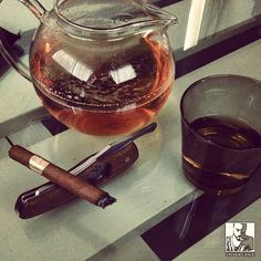 Tea and cigar it never gets old