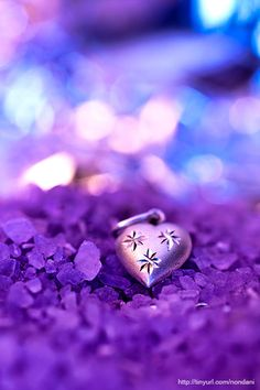 Purple heart…