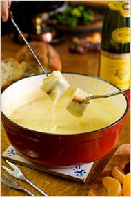 Classic fondue. Photo: Evan Sung for The New York Times
