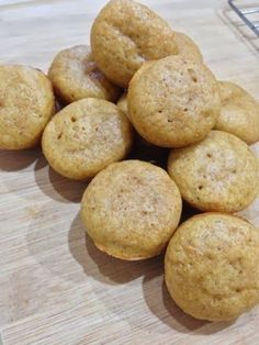 These are my favorite muffins. They are so yummy right out of the oven. They freeze well, so I usually make a double batch....