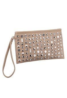 Rhinestone and stud embellished wrislet (original price, $18) available at #Maurices