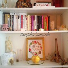 Bedroom Shelf Decor