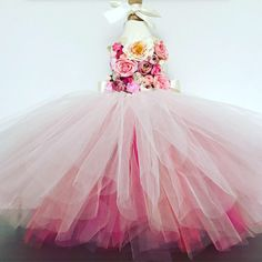 Excited to share the latest addition to my #etsy shop.Flower Fairy tutu dress #clothing#children #dress#wedding