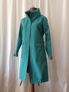 Turquoise raincoat HAVRAN Unique Outfits, Raincoat, Turquoise, My Style, Jackets, Clothes, Fashion, Rain Jacket, Down Jackets