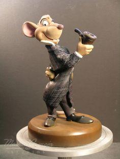 Basil #maquette - The Great Mouse Detective - Mark Henn and Ruben Procopio