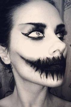 35 Sexy and Scary Halloween Makeup Looks - Scariest Halloween Makeup Looks