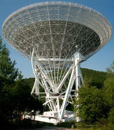 Radiotelescoop Effelsberg (Duitsland)