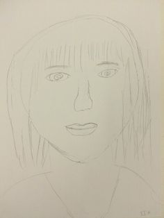 Self Portraits alloa lifestart Drawing Without Seeing 2014