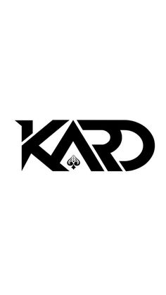 KARD wallpaper Logo Kpop, Kpop Logos, Iphone Background Wallpaper, Locked Wallpaper, Screen Wallpaper, Kpop Tattoos, Tumblr Transparents, Band Logos, Pop Bands