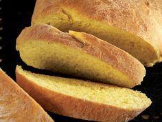 Zerdeçallı ekmek Irish Recipes, Hot Dog Buns, Brunch, Food And Drink, Gluten, Tasty, Stuffed Peppers, Homemade, Cooking