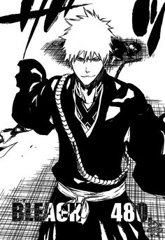 Read Bleach Chapter 480 : Final Arc - The Thousand Year Blood War - The Exciting and Exquisite Bleach Manga Bleach Manga is a Japanese Manga series that is illustrated and writer by Tite Kubo. Bleach has over two hundred series in which most of Bleach Manga Español, Bleach Fanart, Manga Anime, Anime Art, Manga Girl, Ichigo Et Rukia, Bleach Tattoo, Anime Rules, Fairy Tail Manga