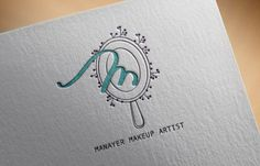 Make up artist logo design