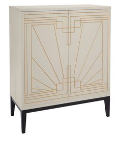 Art Deco Style Carraway Drinks Cabinet From Marks