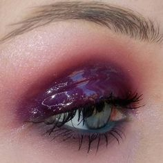 """3,112 Likes, 48 Comments - Regina (@coolgirlswearmugler) on Instagram: """"Plum Using the bright palette by @sleekmakeup and some @nyxcosmetics single eyeshadows. The blue…"""""""