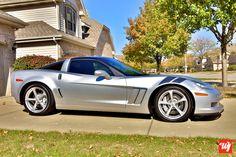 I'm not much into Corvettes but this 2010 Chevy Corvette Grand Sport is nice. 2010 Corvette, Old Corvette, Corvette Summer, Corvette Grand Sport, Camaro Ss, Chevrolet Corvette, Chevy, My Dream Car, Dream Cars