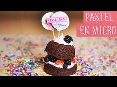 ¡MINI PASTEL EN MICROONDAS! - Receta fácil con taza ✂️ Craftingeek - YouTube