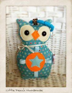 Owl pram toy