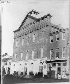 Ford's Theatre, Washington, D.C., 1865