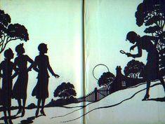 Nancy Drew end paper c.1947