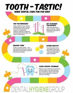 Make dental care fun with kids with a game to keep up with good dental hygiene.