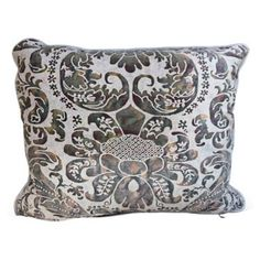 Check out this item at One Kings Lane! Italian Fortuny Pillow