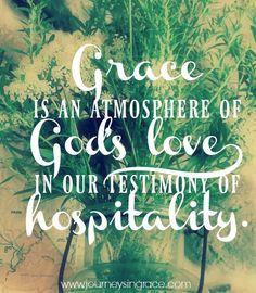 When Grace is an Atm