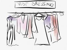 Vide dressing.