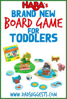 Discover HABA's newest addition to their My Very First Games series - Animal Upon Animal Junior. It's a spectacular stacking game for toddlers with both competitive and cooperative ways to play.#toddlergames #familygames #boardgames #familygamenight… Games To Play With Kids, Board Games For Kids, Family Board Games, Games For Toddlers, Fun Activities For Kids, Little Tykes, Family Game Night, First Game, News Games
