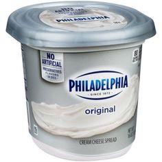 Philadelphia Original Cream Cheese Spread, 16 oz - Walmart.com