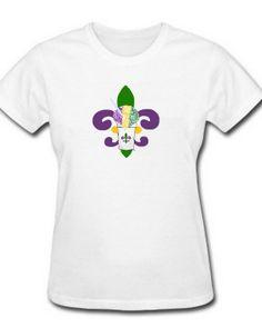 Mardi Gras T Shirts / Oneisie New Orleans by BethDaiglePhotograph, $20.00