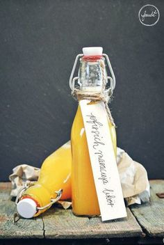 Pfirsich Maracuja Likör - Sommersonne in der Flasche   Freude²