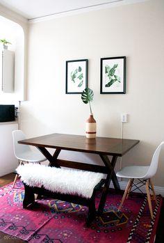 Bright, modern, bohemian - San Francisco kitchen