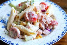 Pasta Sauces, Pasta Dishes, Recipe For Mom, Pasta Salad, Potato Salad, Potatoes, Chicken, Meat, Baking