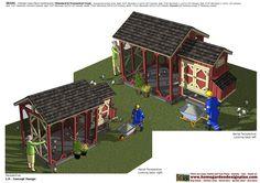 home garden plans: Chicken Coops