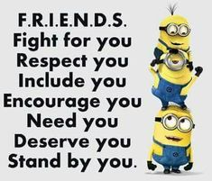 Yup If someone doesn't mark all these boxes then I give up trying to be fri… is part of Friendship quotes funny - Funny Minion To Make You LOL 👈🏻😎😁👍 Funny Minion Pictures, Funny Minion Memes, Minions Quotes, Funny Texts, Epic Texts, Funny Images, Funny Photos, Cute Minion Quotes, Quotes Images