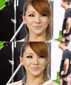 2ne1 - CL love her makeup!
