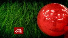 Christmas Ident vfx supervision and compositing Bbc One, First Christmas, Watermelon, Fruit, Tv, Television Set, Television