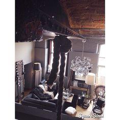 Bonne nuit #love #interior #loft #brique #usine #deco #decoration #interieur #love #picsoftheday #vintage #emmanuelle #ootd #home #homesweethome #instamoment #instalove #cocoon #cosy