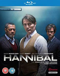 Hannibal - Season 1-3. an American psychological thriller–horror television…