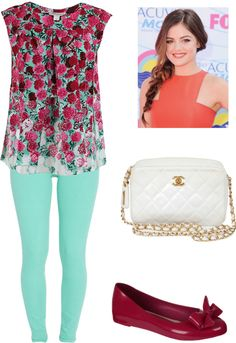 """Simple Floral"" by emma-lee97 on Polyvore"