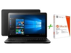 Notebook Vaio Fit15F Intel Core i3 - 4GB 1TB Windows 10 + Pacote Office 365…