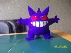 COMPLETED: 70 GOAL: 649 When I was looking for pictures of Gengar's back, Ifound quite a few versions that were different. Some had ...